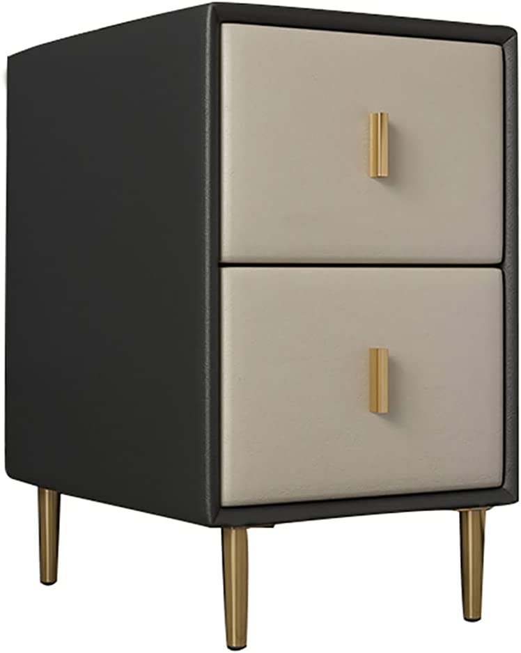 MODEO Nightstand with 2 Superlatite Drawers End Bedside Table Max 58% OFF Narrow Accent