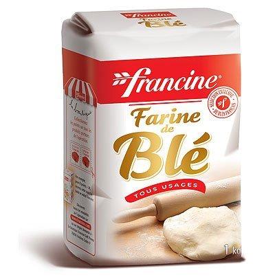 Francine Farine de Ble Tous Usages - French All Purpose Wheat Flour -...