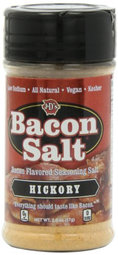 J&D's Bacon Salt Sampler, 2 Ounce Bottles (Pack of 4)