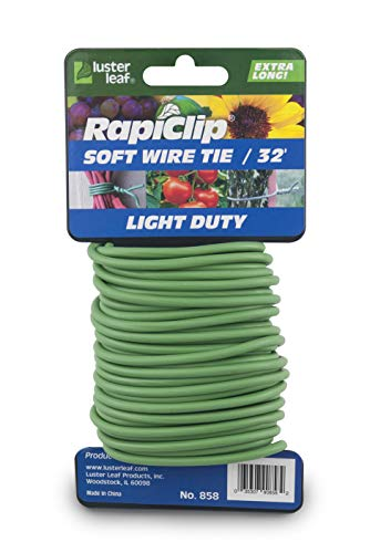 GARDEN TWISTY TIES PLANT TIE WIRE FROST RESISTANT REUSABLE 5M OR 8M LENGTHS