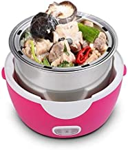Boîte à lunch à vapeur électrique Anti-sec protection automatique hors tension cuisson chauffe alimentaire multifonctionne...