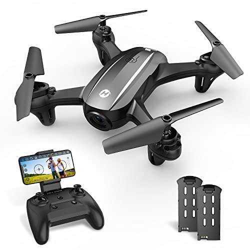 2. Holy Stone HS340 Mini Drone with 720P Wifi FPV Camera for Kids Adults, RC Quadcopter with Throw to Go, Circle Fly, Auto Rotation, Gesture/Voice Control, Waypoint Fly, 3D Flips, Fun Toy for Boys Girls