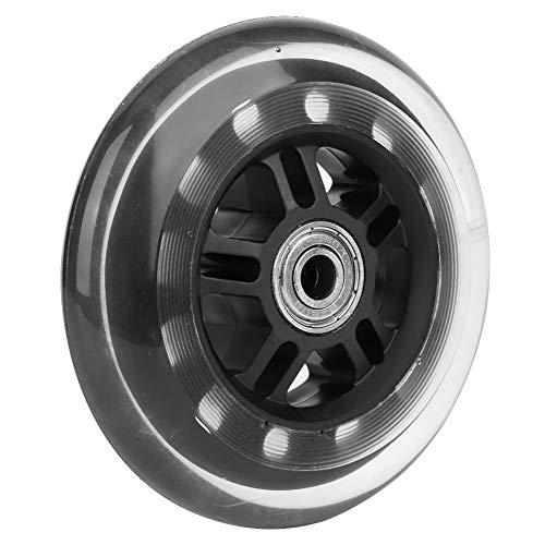 SANON ABEC-7 608Zz Rodamiento Ruedas Giratorias 4 Pulgadas Ruedas de PU de Bajo Ruido para Carros Pequeños/Puertas/Hardware