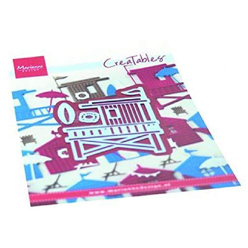 Marianne Design Creatables-Plantilla de Troquelado para Manualidades, Rosa, talla única