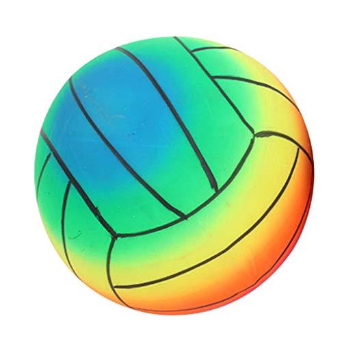 F Fityle Fútbol de 9 Pulgadas para Jugar Al Aire Libre en Interiores, Bonita Pelota Deportiva de Entrenamiento para Niños Y Niñas, Pelota de Fútbol Y Balo