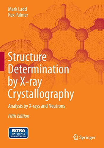 Structure Determination by X-ray Crystallography: Analysis by X-rays and Neutronsの詳細を見る