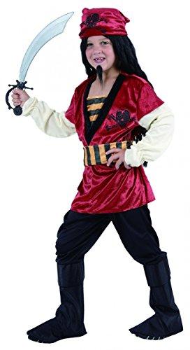 Générique Déguisement Pirate Enfant pour garçon - 4 à 6 Ans