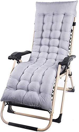 FTFTO Office Life Patio Rocking Chair Zero Gravity Balcon Chaise Longue de Jardin Convient à Toutes Les Occasions telles Que Les plages extérieures Support200kg (Couleur: Marron sans Coussin)