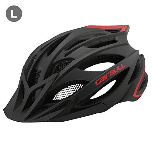 Fahrradhelm, 55-59cm / 59-62cm Unisex-Erwachsenenhelm, Bequemer, Leichter, Atmungsaktiver Helm, Voll Geformte Mountainbike-Fahrradradhelme für Männer, Frauen