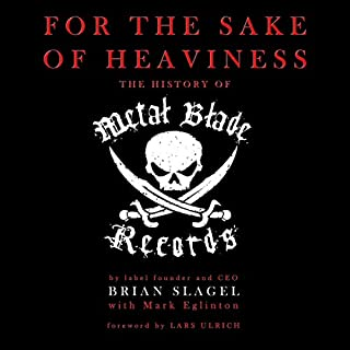 For the Sake of Heaviness audiobook cover art