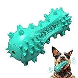 REDSTORM - Juguete Masticable y Molar para Perros, Cepillo de Dientes para Perros, Caucho Natural, Seguro y Duradero, Juguete para Perros Pequeños y Medianos Tallas, Azul