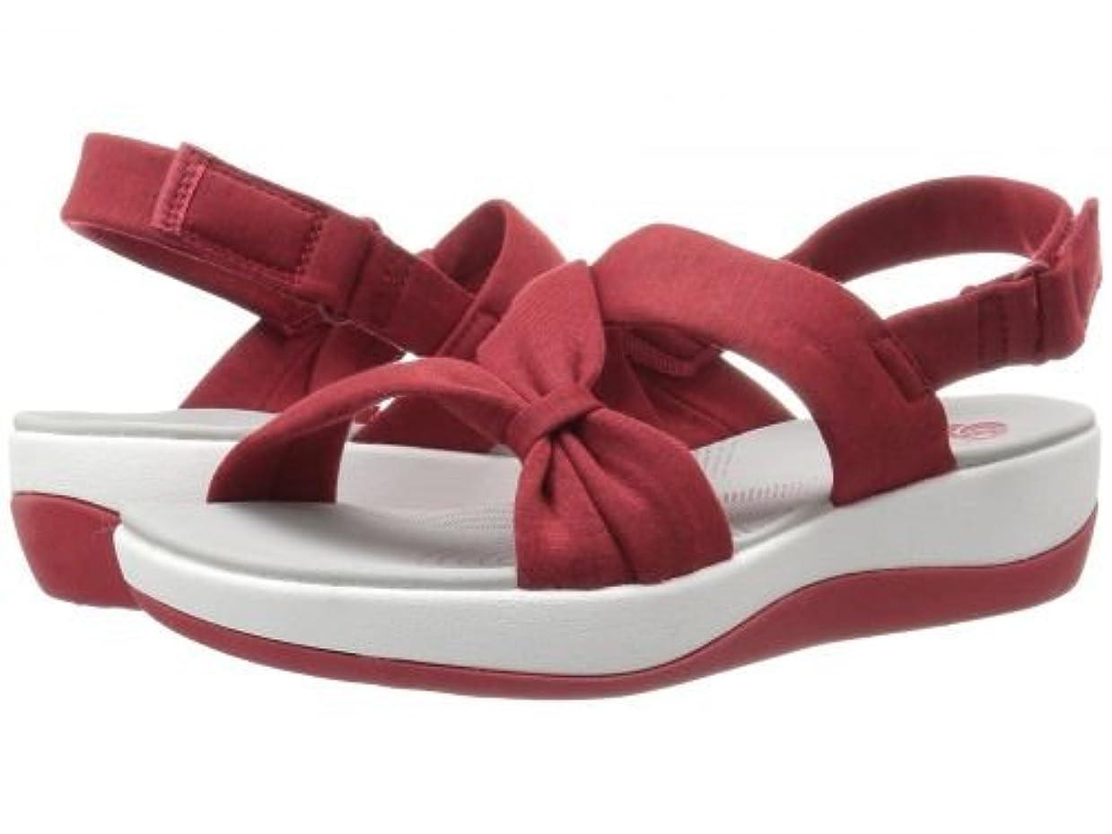 注入広々としたプレゼンClarks(クラークス) レディース 女性用 シューズ 靴 サンダル Arla Primrose - Red Heathered Fabric [並行輸入品]
