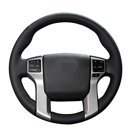 YINSHURE Leder Autolenkradabdeckung, für Toyota Land Cruiser Prado 2010-2017 Tacoma 2012-2019 Tundra 2014-2019