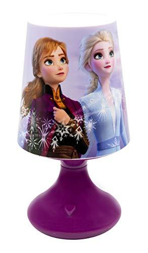 Joy Toy 19380 Tischlampe Disney Frozen 2 Lampe, Mehrfarbig