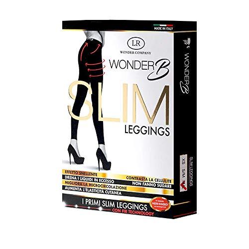 LR Wonder Company Slim Leggings Dimagrante Anti-cellilite in Tessuto Innergy con Tecnologia Fir (Raggi Infrarossi) (M/L)