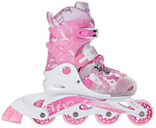 RAVEN 05902276600012 Princess - Patines Infantiles en línea (Talla S), diseño de Princesa Color Rosa