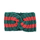 Chunky Knit Headbands Winter Braided Headband Ear...