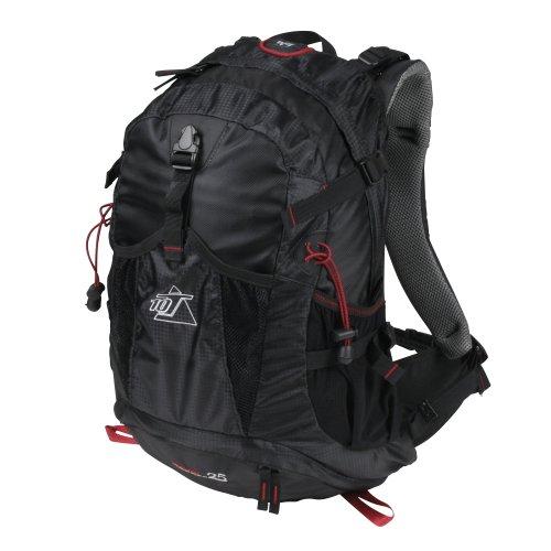 10T Rucksack Kiowa 25L Tourenrucksack Wanderrucksack Daypack mit Regenschutz & Trinksystem