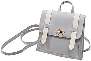 TOOGOO Sweet Fashion Shoulder Small Backpack Shoulder Diagonal Phone Bag Pink
