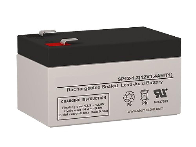 SigmasTek GE Marquette 医療用電子機器P711 BPモニター 交換用バッテリー 12ボルト 1.2 AH F1 ターミナル