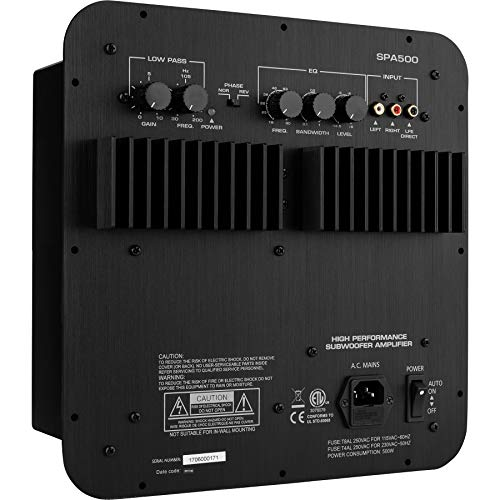 Dayton Audio SPA500 500W Subwoofer Plate Amplifier