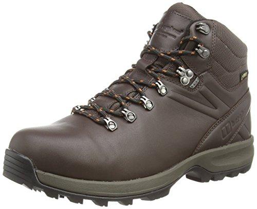 Berghaus Explorer Ridge Plus Gtx Boot, Chaussures de Randonnée Hautes Homme, Marron (Brown/leather Brown V32), 41.5 EU