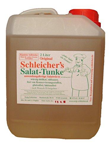 Original Schleicher's Salat-Tunke 2 Liter