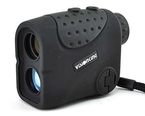 Visionking Range Finder 6 x 21 1000 M telémetro láser de caza golf lluvia (negro)