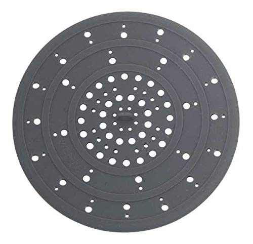 WENKO Abfluss-Sieb Silikon Grau