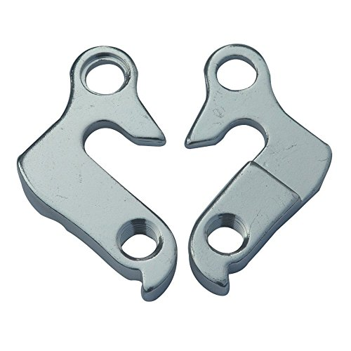 Generic MTB Bicycle Parts Transmission/road Bike Frame Tail Hook Lug Pull Hook Cycling Road Bicycle Frame Gear Rear Derailleur Hanger Dropout Frame Tail Hook Lug For Pinarello Carbon Firber Road Bike Frame Aluminum-alloy after Forging /Silver 2 PCS With Screw21#