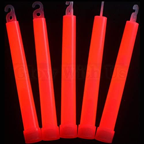 """200 6/"""" YELLOW Glow Sticks 15mm Bulk Wholesale Pack w// FREE 100 Glow Bracelets"""