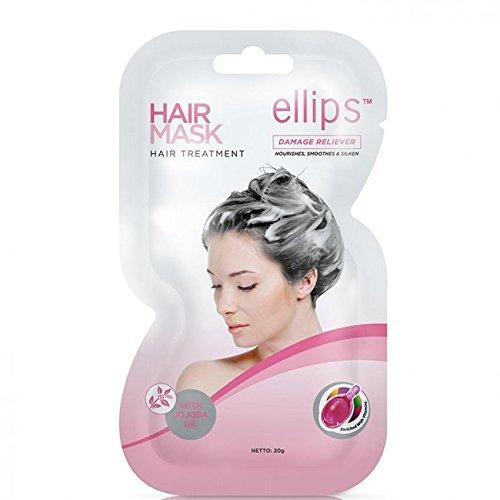 Ellips Masque capillaire (traitement capillaire) Paquet de 4 20 Gram