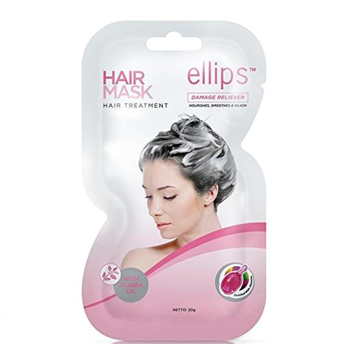 どれでも推測する悲しいEllips 髪のマスク - ヘアトリートメント、20グラム(4パック)