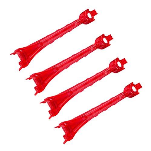 Traxxas 6651 Alias Red Lenses (set of 4)