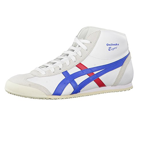 Onitsuka Tiger Sneaker Herren Mexico MID Runner DL409 0143 White/Daphne, Schuhgröße:44