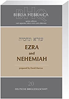 Biblia Hebraica Quinta-Ezra & Nehemiah (Greek, Hebrew and English Edition)