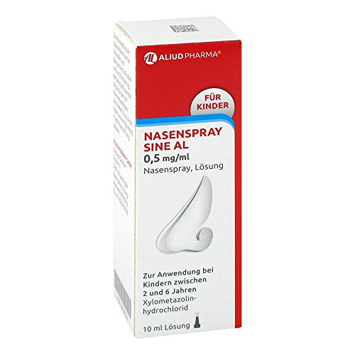 Nasenspray sine AL 0,5 mg/ml f�r Kinder, 10 ml
