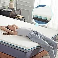 Bedsure 4 Inch King Memory Foam Spring Mattress Topper