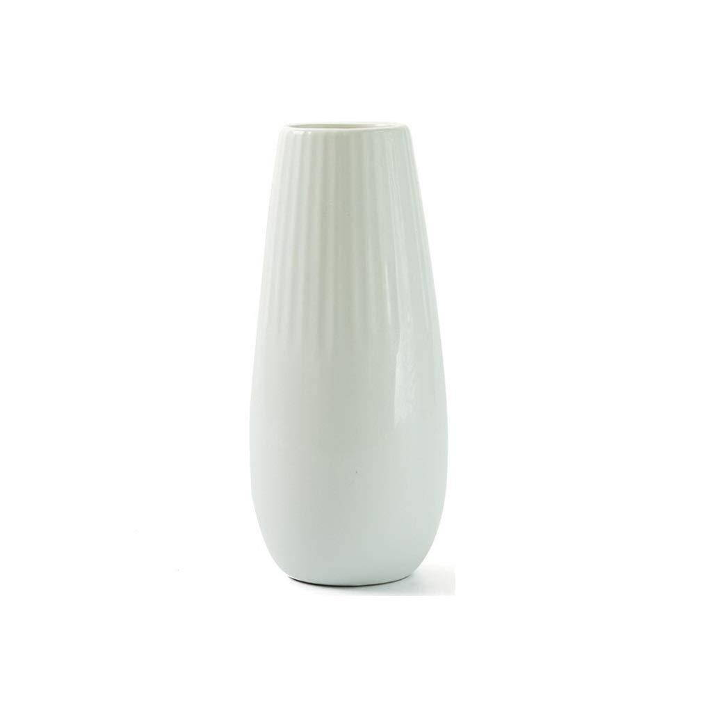Decorazione Casa A 32 cm ASA Ease Vaso da Fiori 91032005 Bianco Ceramica