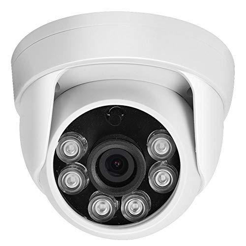 2MP / 1080P HD Cámara Domo de vigilancia + visión Nocturna por Infrarrojos + Luces infrarrojas, GRABACIÓN DE VÍDEO cámara de Domo Interior/Exterior con visión Nocturna Diurna(PAL)