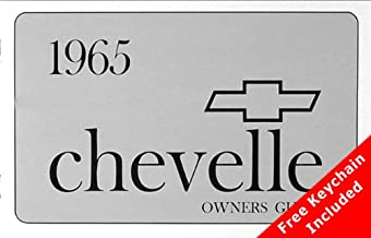 1965 Chevelle El Camino Owners Manual with Key Chain