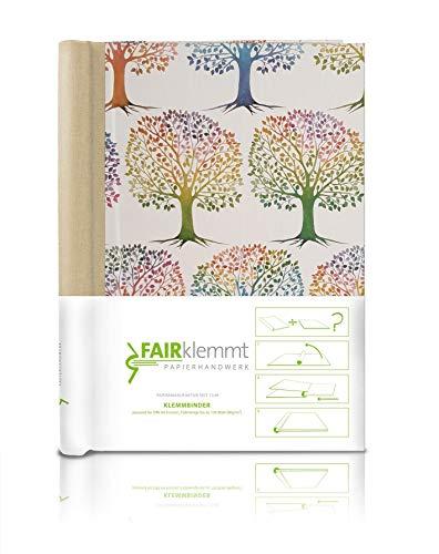 Klemmbinder Lebensbaum Naturleinen, A4