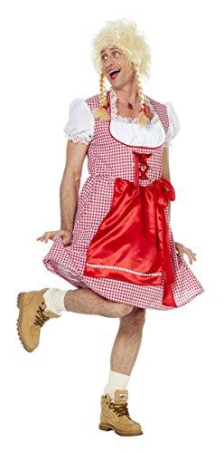Wilbers Herren Kostüm Travestie Dirndl Karneval Fasching Männerballett Gr.56