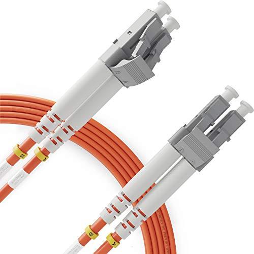 Cable de Fibra Óptica LC a LC 20M Multimodo Duplex - UPC/UPC...