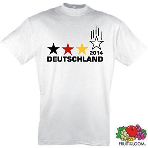 Deutschland Weltmeister 2014 Herren T-Shirt 4 Sterne Trikot|M