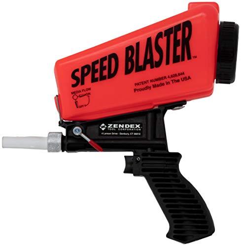 Speed Blaster - Gravity Feed Media Blaster, Red…