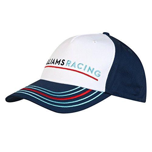 Williams Martini Racing Team Replica Kids Cap, Hackett London, fórmula 1, F1, Azul/Blanco, Valtteri Bottas, Felipe Massa
