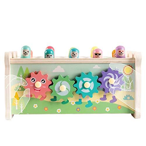 Juguete multifuncional del hámster, juego de pesca/cogotes de captura de 3-6 años, infantes y niños pequeños, juguetes de educación temprana, regalos de cumpleaños para niños