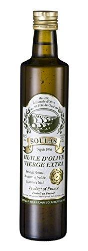 Olivenöl vierge extra aus Frankreich, kaltgepresstes Olivenöl aus der Provence 0,5l