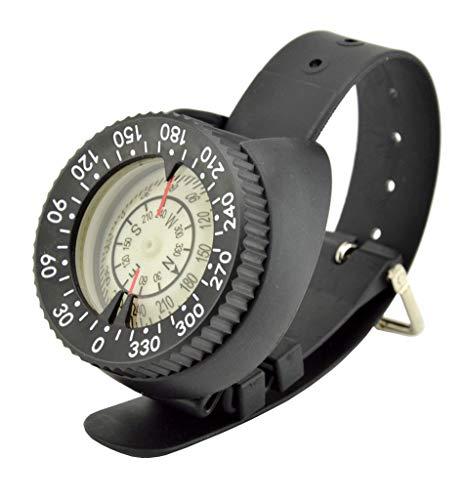 WZ Starke Magnetische 50 Meter wasserdichte Uhr-Art Kompass Luminous Unterwasser-Kompass Scuba Technologie Tauchkompass CP-991
